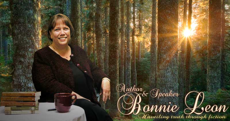 Welcome to BonnieLeon.com, the official site of novelist and speaker Bonnie Leon